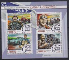 L90. Guinea - MNH - 2016 - Transport - Various - Transports