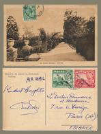 3 TIMBRES SUR 2 CARTES POSTALES DONT MALTA SELF-GOVERNEMENT 1947 - Malte