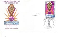 Nouvelle -Calédonie - Lions Club  ( FDC De 1976 à Voir) - FDC