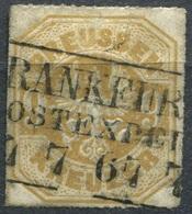 Preußen 9 Kr Michel 26 O R3 FRANKFURT (2-320) - Preussen