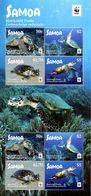 WWF W.W.F. Samoa Turtle / Turtles MNH Perf Sheetlet 2016 - W.W.F.