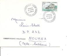 Nouvelle -Calédonie ( Lettre Premier Jour De 1967 De Fayaoue-Ile De Ouvea - Vers Nouméa à Voir) - FDC