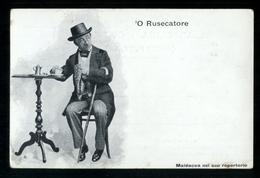 COSTUMI NAPOLETANI - INIZI 900 - MALDACEA NEL SUO REPERTORIO - O RUSECATORE - Costumi