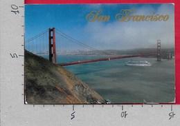 CARTOLINA VG STATI UNITI - SAN FRANCISCO - Golden Gate Bridge - 10 X 15 - ANN. 2000 - San Francisco