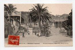 - CPA GRASSE (06) - Boulevard Fragonard (avec Personnages) - Editions J. Benoit - - Grasse