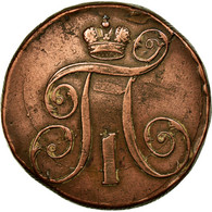 Monnaie, Russie, Paul I, 2 Kopeks, 1799, Ekaterinbourg, TTB, Cuivre, KM:95.3 - Russie