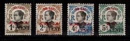 Hoi Hao - YV 66 / 67 / 68 / 69 N* Annamites Surchargées Cote 7 Euros - Hoï-Hao (1900-1922)