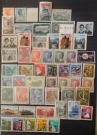 Luxemburg 1964 - 66    Van  Nr. 690  Tot Nr. 745    Zie Foto    Scharnier * /  Postfris **  CW  27,00 - Luxembourg