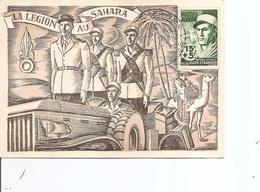 Algérie - Légion étrangère ( CM De 1954 à Voir) - Maximum Cards