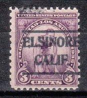 USA Precancel Vorausentwertung Preo, Locals California, El Sinore 493, Olympia 1932 - Préoblitérés