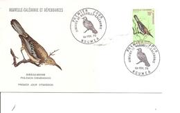 Oiseau -Moine ( FDC De Nouvelle-Calédonie De 1970 à Voir) - Oiseaux