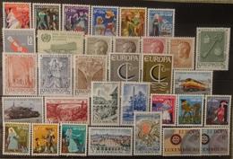 Luxemburg 1965 - 67    Van  Nr. 717  Tot Nr. 749    Zie Foto   Postfris **  CW  12,60 - Luxembourg