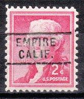 USA Precancel Vorausentwertung Preo, Locals California, Empire 729 - Préoblitérés