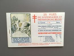 BRUXELLES - BRUSSEL - Werk Tegen Tuberculose - Effort Antituberculeux - Sanatoria - Sluitzegel - Timbre-vignette - Algemene Zegels