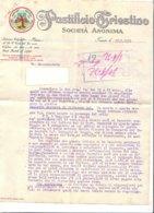 B2070 - FATTURA CARTA INTESTATA PASTIFICIO TRIESTINO - TRIESTE 1932/PASTA - Italia
