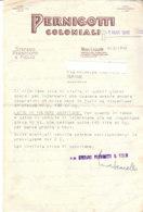 B2078 - CARTA INTESTATA PERNIGOTTI COLONIALI - NOVI LIGURE 1946 - Italia