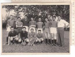 B2086 - FOTOGRAFIA SQUADRA CALCIO G.A. LA BURICA - FOOTBALL Anni '50 - Sport