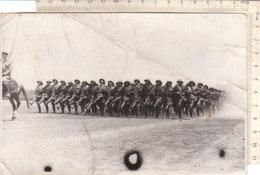 B2088 - FOTOGRAFIA MILITARI - ADDIS ABEBA 1938 - BATTAGLIONE DI POLIZIA COLONIALE LUIGI AMEDEO DI SAVOIA - War, Military