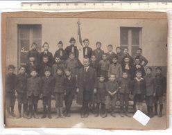B2090 - FOTOGRAFIA SCUOLE BAMBINI - BALILLA Anni '30 - War, Military