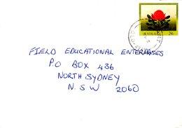 AUSTRALIE. Entier Postal Ayant Circulé. Waratah. - Végétaux