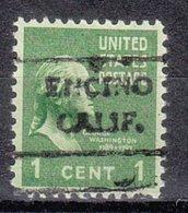 USA Precancel Vorausentwertung Preo, Locals California, Encino 716,5 - Préoblitérés
