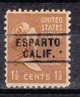 USA Precancel Vorausentwertung Preo, Locals California, Esperanto 729 - Préoblitérés