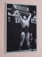 SERGE REDING ( Série Le Soir > Carte 112 - P. Hurbain ) > Anno 19?? ( Zie/voir Photo ) ! - Haltérophilie