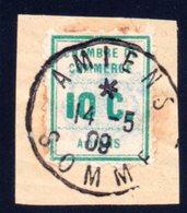 France / Grève N° 1 : Chambre De Commerce D'Amiens - Strike Stamps