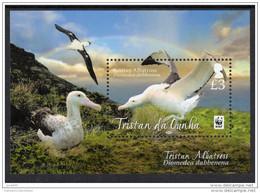 (WWF-510) W.W.F. Tristan Da Cunha Albatross / Bird / Birds MNH Souvenir Sheet 2013 - W.W.F.