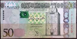 Libya 2013 Banknote 50 Dinars UNC - Libië