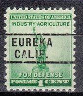 USA Precancel Vorausentwertung Preo, Locals California, Eureka 261 - Préoblitérés