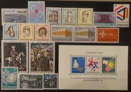 Luxemburg 1968 - 69    Van  Nr. 777  Tot Nr. 797    Zie Foto   Postfris **  CW  16,50 - Luxembourg