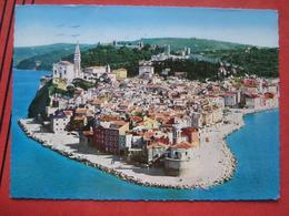 Piran / Pirano: Flugaufnahme - Slowenien