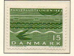 PIA - DANIMARCA -1963 : Ferry-boat Danimarca-Germania   - (Yv 426) - Maritime