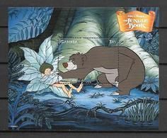 Disney Gambia 1999 The Jungle Book #2 MS MNH - Disney