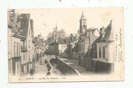 Cp, 80 ,  AMIENS ,la Rue Des TANNEURS ,  Dos Simple ,  Voyagée 1904 , Ed. LL , N° 53 - Amiens
