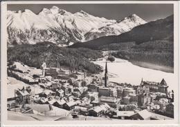 ST. MORITZ  Panorama Im Winter - GR Grisons