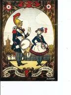 Pompiers ( Carte Postale Commémorative De France Neuve à Voir) - Firemen
