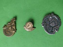 SVIZZERA  3 Spille Di Montagna - Medaillen & Ehrenzeichen