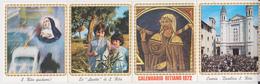CALENDARIO 1972 SANTA RITA PICCOLO - Calendriers