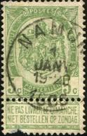 """COB   56 B (o) Oblitération """"Namur"""" T1L - 1893-1907 Wappen"""