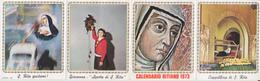 CALENDARIO 1973 SANTA RITA PICCOLO - Calendriers