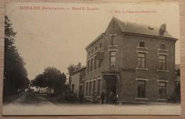 LONGLIER. Neufchateau - Hôtel E. Salmon - 12 - Ed: L. Duparque - Circulé: 1907 - 2 Scans. - Neufchâteau