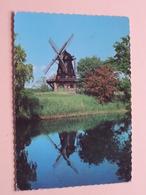 MALMO Slottsmöllan ( Giovanni Trimboli ) Anno 1970 ( Zie/voir Photo ) Molen / Moulin / Mill ! - Sweden