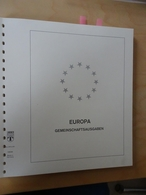 Europa Cept Lindner T Falzlos 1981-1984 Komplett (9728) - Alben & Binder