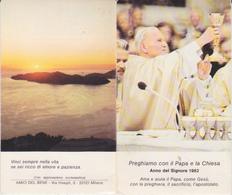 CALENDARIO 1982 PAPA GIOVANNI PAOLO II PICCOLO - Calendriers