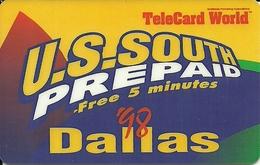 USA: U.S.South - TeleCard World '98 Exposition Dallas - Vereinigte Staaten