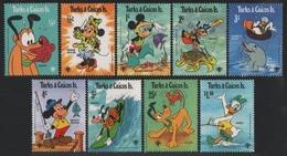 Turks- & Caicos 1979 - Mi-Nr. 464-472 ** - MNH - Walt Disney - Turks & Caicos (I. Turques Et Caïques)