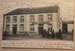 LONGLIER. Neufchateau - Hôtelde La Station L. Perpète-Lefèvre, Pépinièriste - Ed: Duparque - Circulé: 1909 - 2 Scans. - Neufchâteau