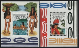 St. Vincent-Grenadinen 1989 - Mi-Nr. Block 42-43 ** - MNH - Ureinwohner - St.Vincent Und Die Grenadinen